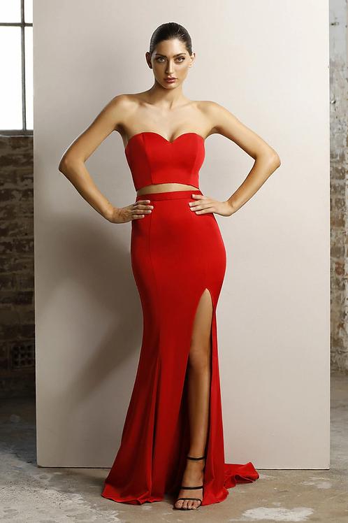JA Jacinta Set Gown Red
