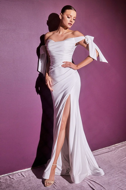 CD Lumi Satin Gown