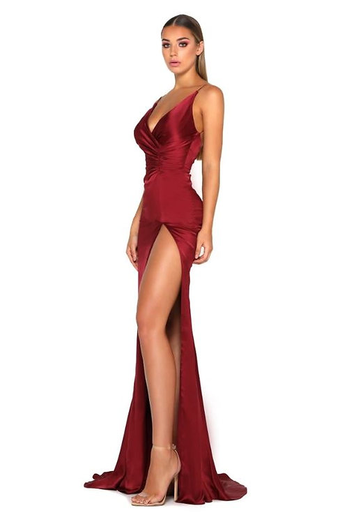 PS Hugo Gown Deep Red