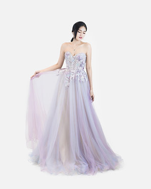 S Unicorn Sweetheart Gown