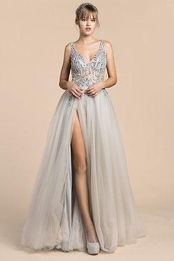 AL Bella Gown Silver
