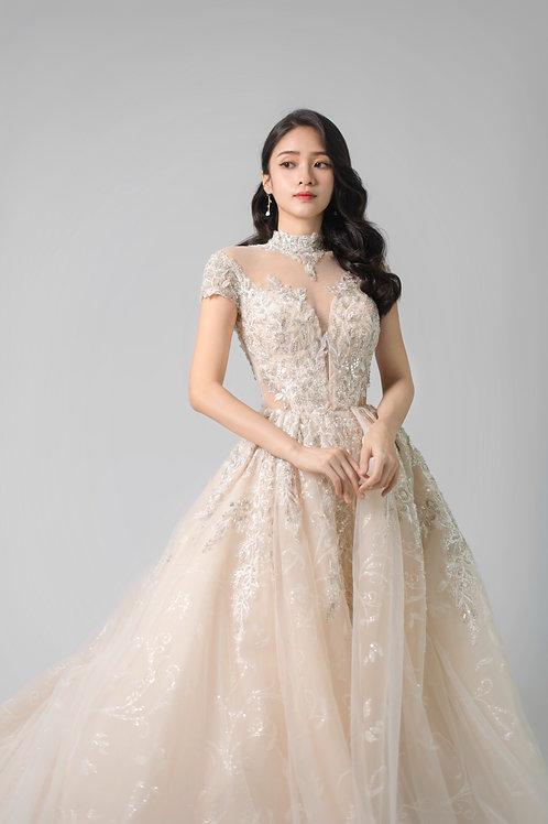 S Regal Illusion OS Bridal Gown