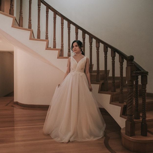 Ivory Keira Gown