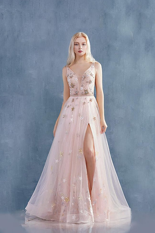 AL Blush Starry Gown