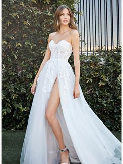 CD Gia Slit Bridal Gown