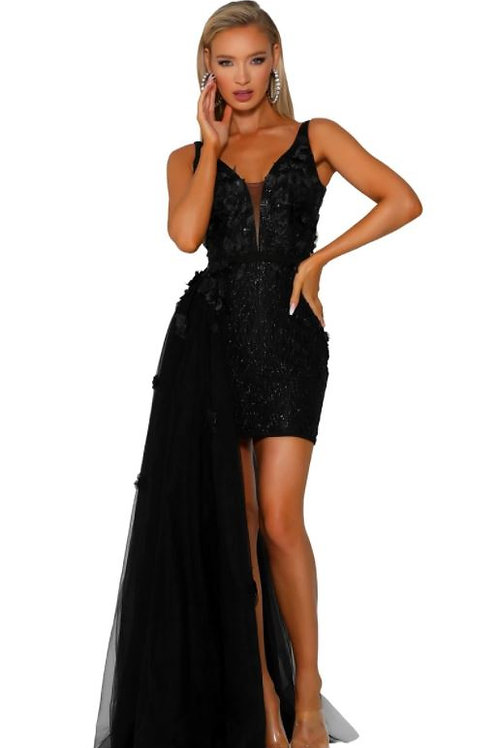 PS Cosmos Side Tulle Gown