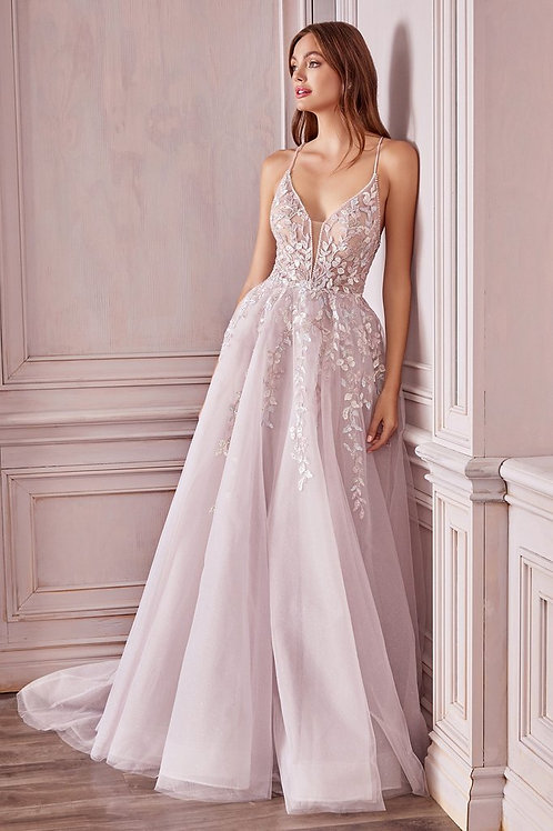 AL Mary Floral Gown