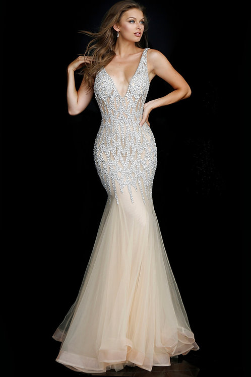 J Bella Tulle Gown