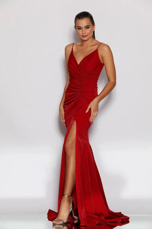 JA Chaque Red Gown
