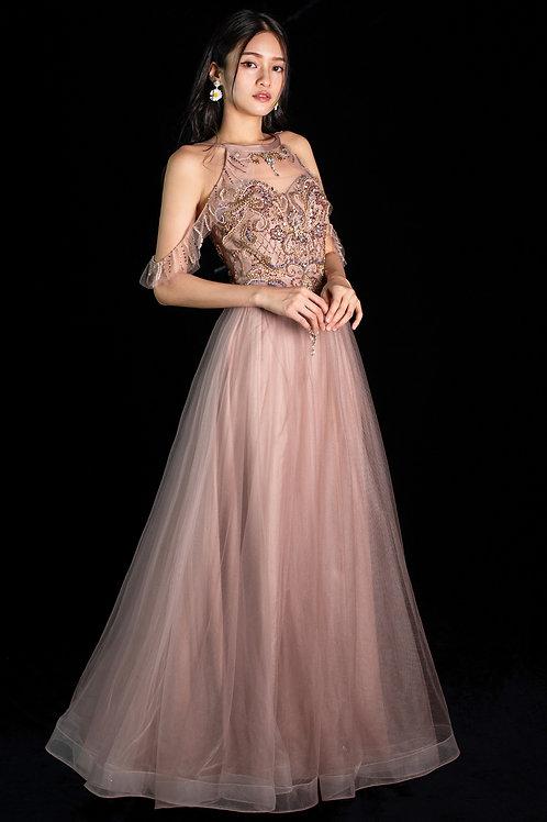 Imogen Halterneck Gown