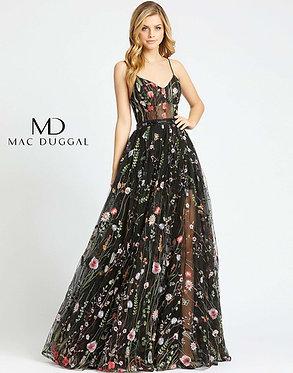 MD Black Floral