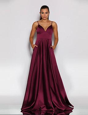 JA Eda Berry Gown