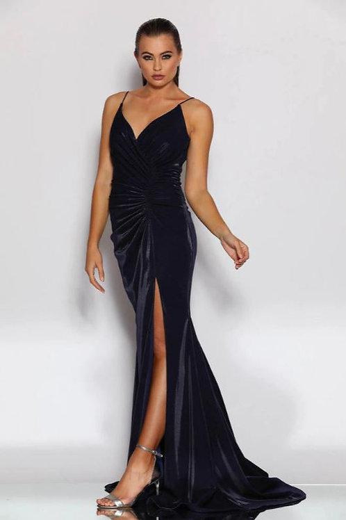JA Chaque Navy Gown