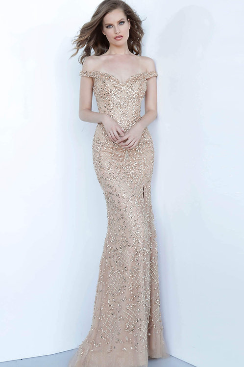 J Daphne Gold OS Gown