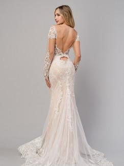 AL Bohemian Lace Mermaid Bridal Gown