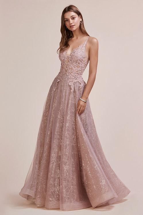 AL Midas Rose Gold Gown
