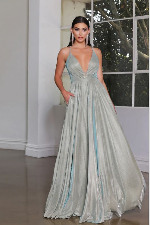 JA Stardust Sage Gown