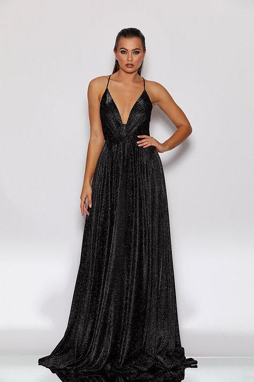 JA Stardust Black Gown