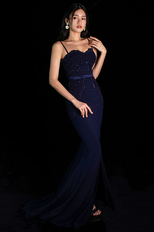 Normagale Navy Gown