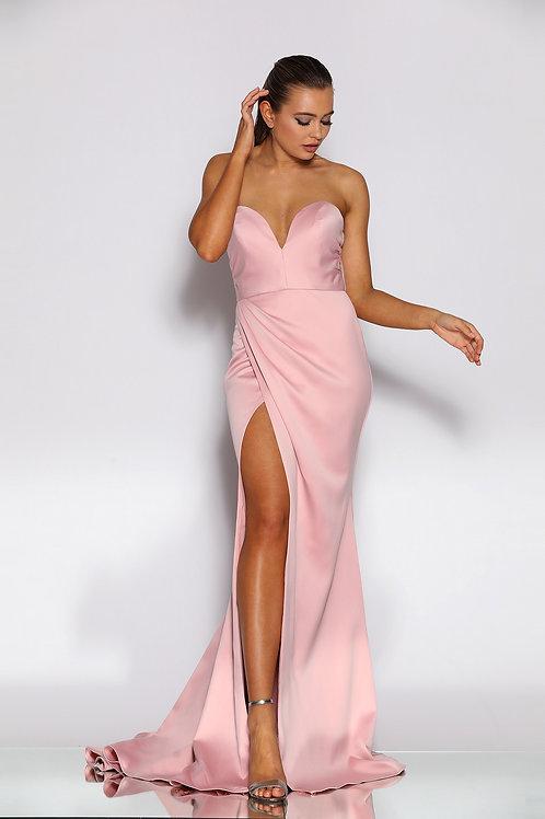 JA Valentina Blush Sweetheart Gown