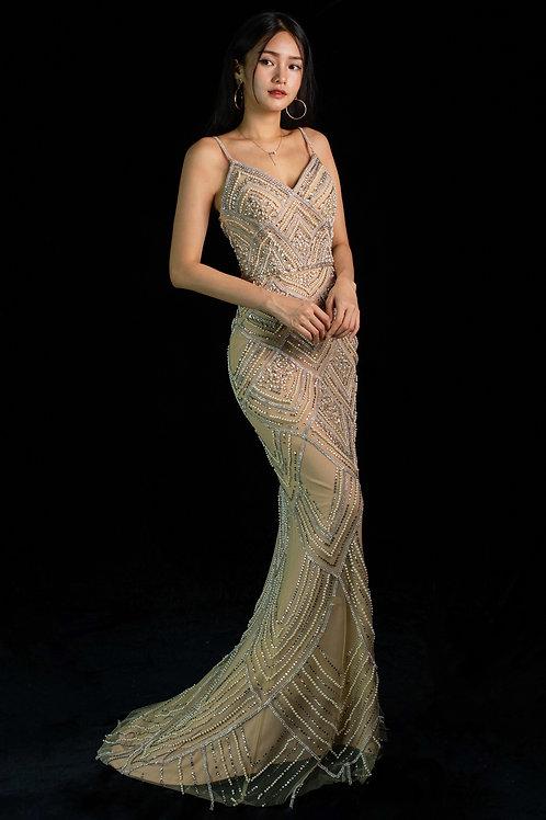 S Clementine Diamond Gown