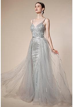AL Seleny Silver Gown