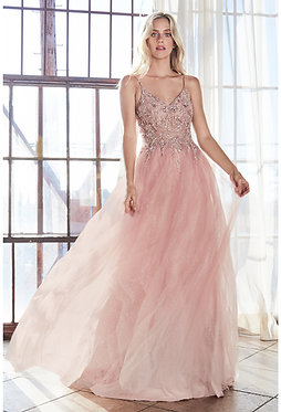 CD Sweet Blush Ombre Hailey Gown