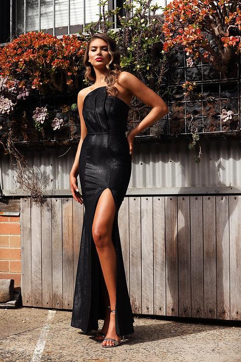 JA Bernie Tube Black Gown