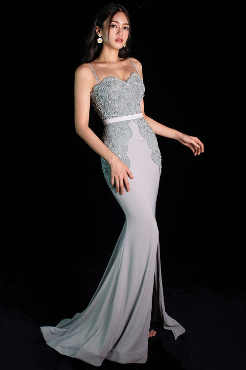 Normagale Silver Gown