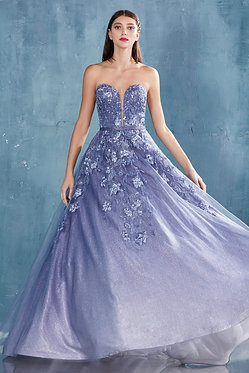 AL Blue Ombre Sweetheart Ball Gown