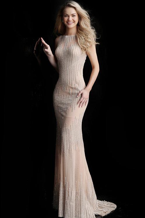 J Round Neck Oriana Gown