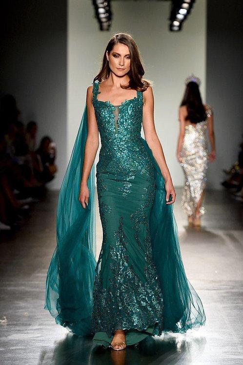 PS Esmeralda Rowan Gown