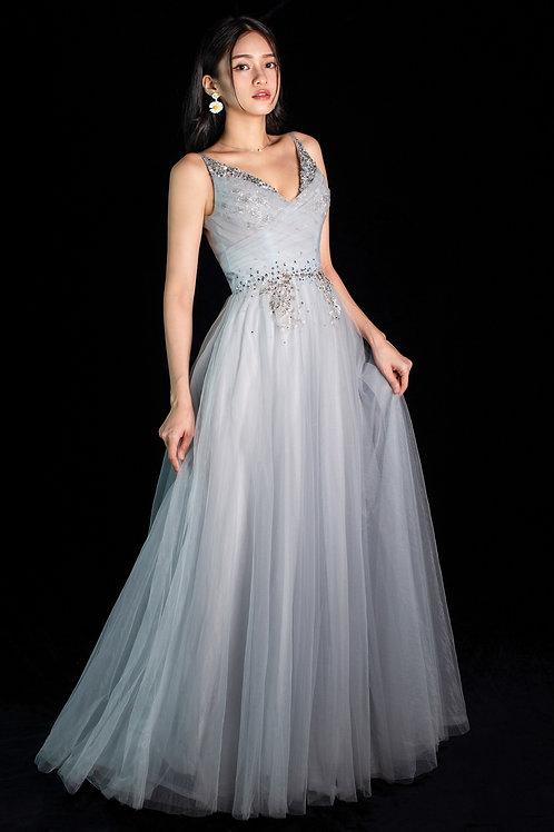 Loire Baby Blue Gown