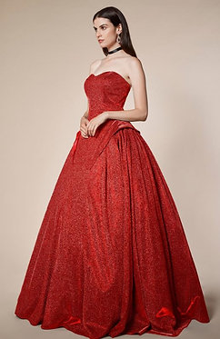 AL Hestia Red Ball Gown