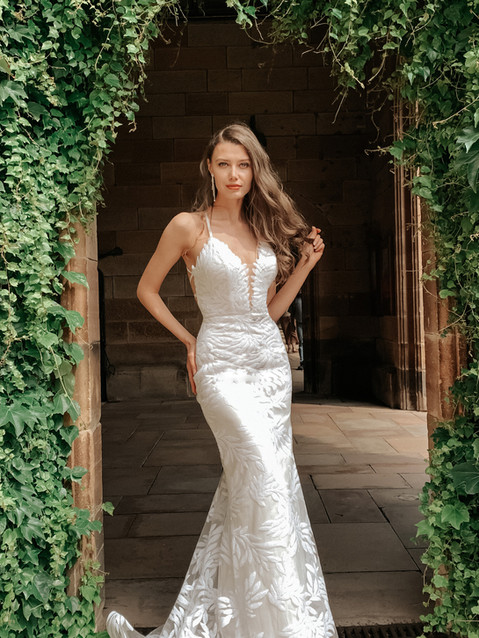 H Stella Crossback Gown.