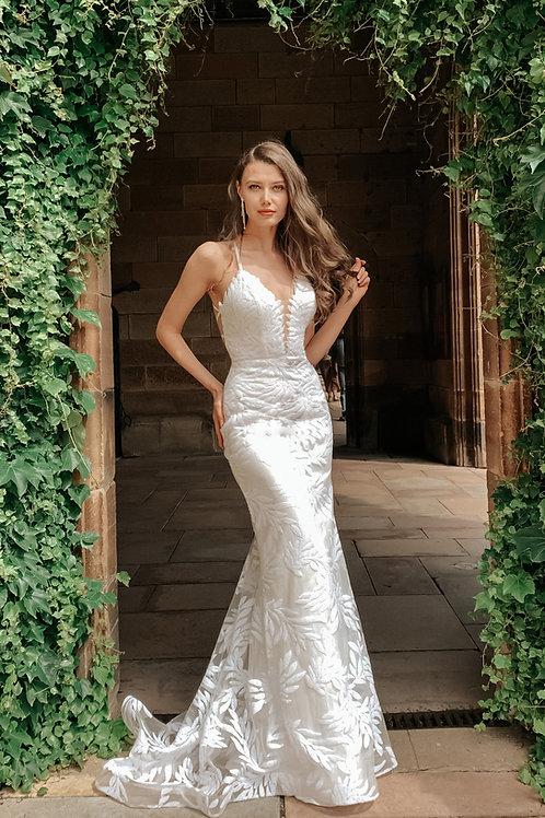 H Stella Crossback Gown