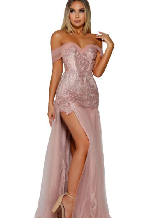 PS Genevieve Rose Gold Gown
