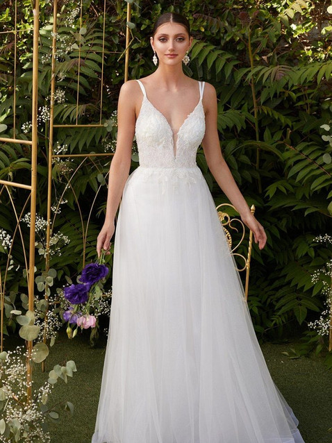 CD Blanca Lace Gown