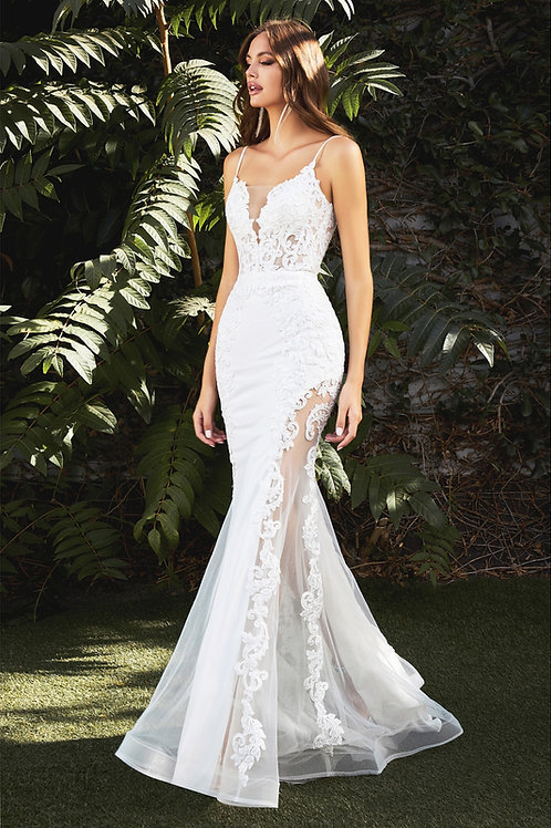 CD Helen Illusion Bridal Gown