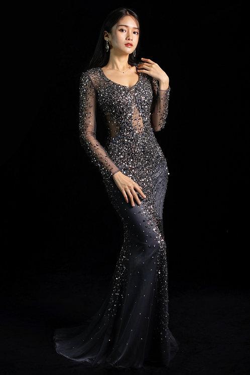 S Midnight Diamond Gown