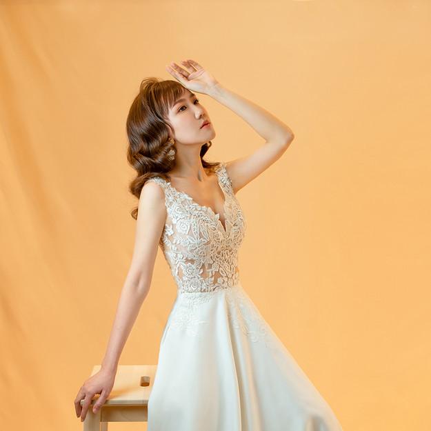 Duchess Satin Wedding Gown