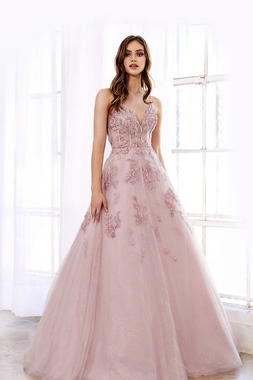 AL Sophia Blush Gown