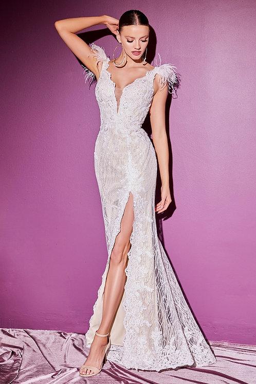 CD Fufu White Gown
