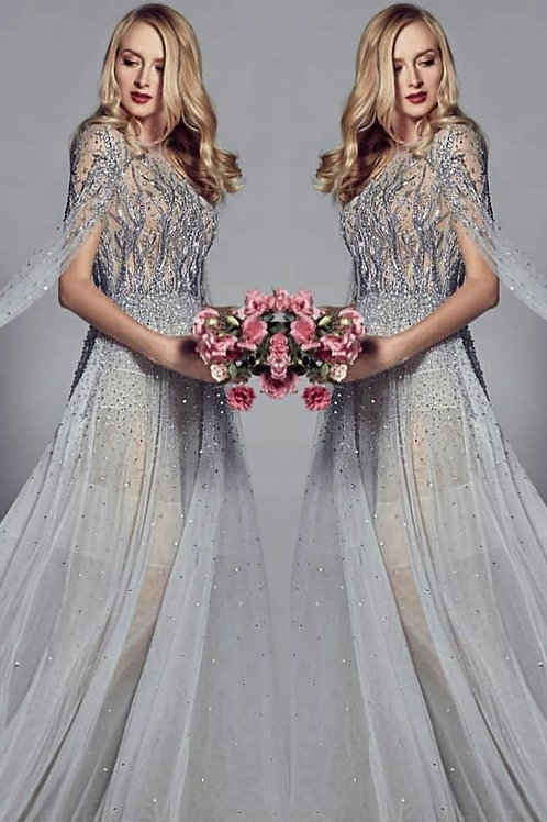 CD Cascade Gown