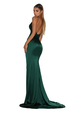 PS Hugo Gown Emerald Green