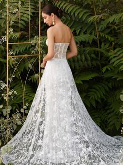 CD Cassia Strapless Gown (Overskirt)