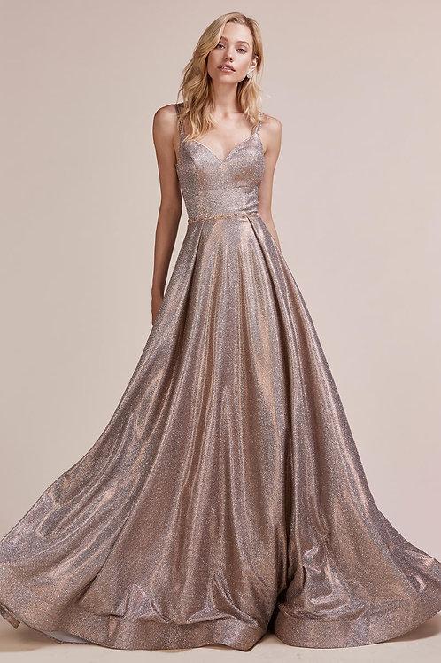 AL Rose Bronze Gown