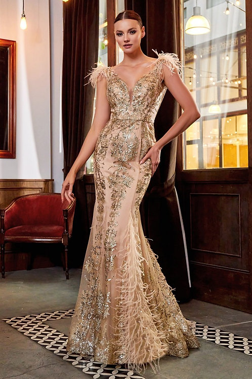 CD Fufu Gold Gown