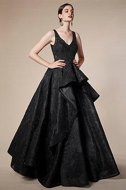 AL Anteros Black Ball Gown