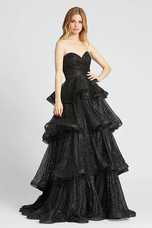 MD Sweetheart Asphalt Gown